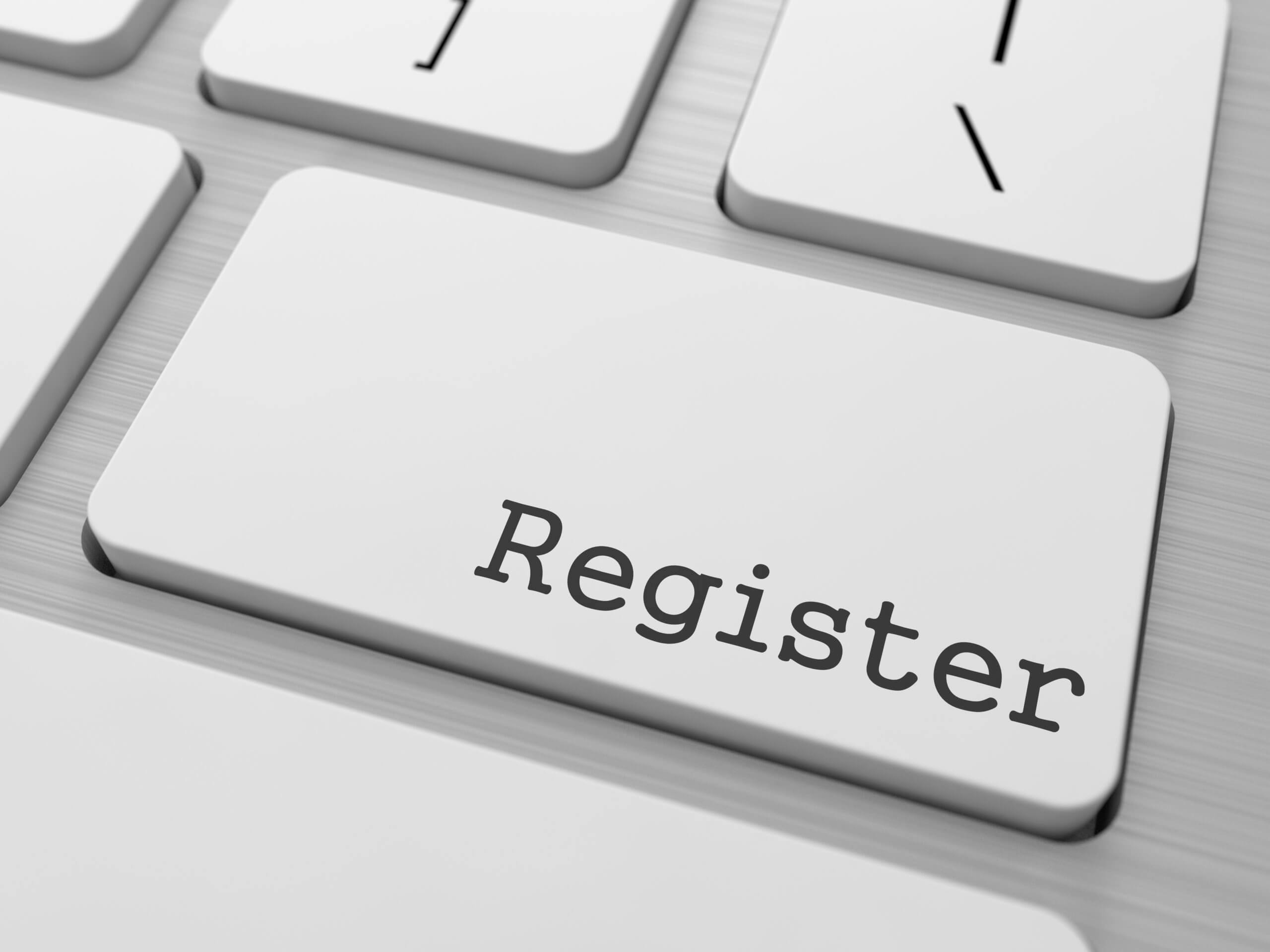 register your cv
