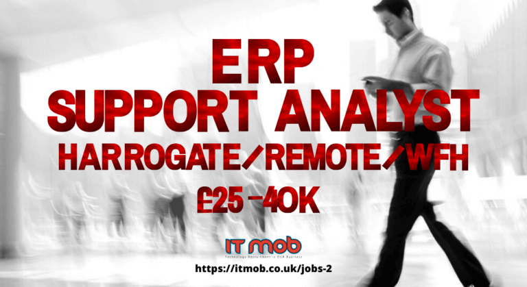 ERP Support Analyst Harrogate